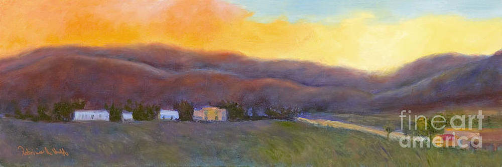 Morning Light Over Taos by Patricia Huff