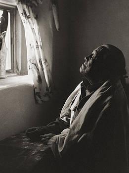 Teresino Jiron - Taos by Gary Auerbach