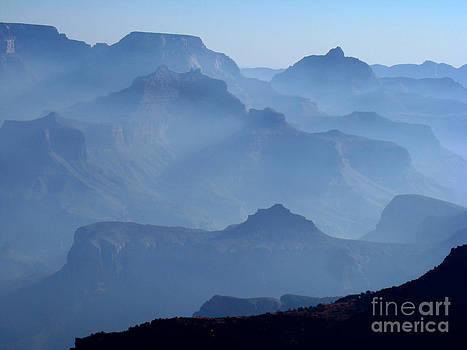 Morning Mist at Grand Canyon by Eva Kato