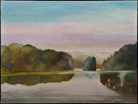 Morning Mist by Gloria Cigolini-DePietro