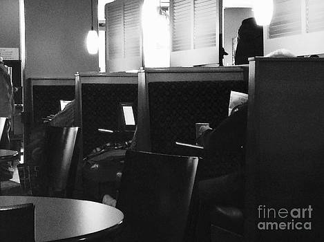 Frank J Casella - Morning News - Monochrome