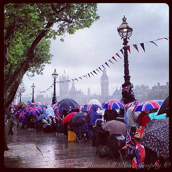 Morning of the Queen's Jubilee Pageant 2012 by Maeve O Connell