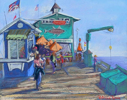 Morning On the Pier by Patricia Rose Ford
