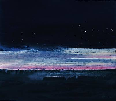 Morning over the Sea 2003 by Karl Leonhardtsberger
