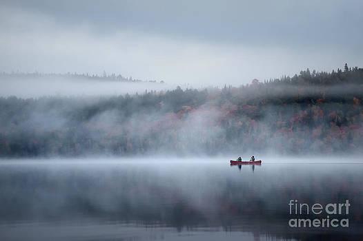 Morning Paddlers by doug hagadorn by Doug Hagadorn