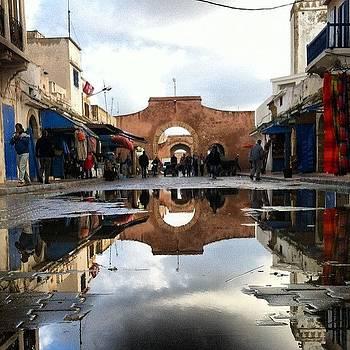 Morning Rain In The Medina #essaouira by Sarah Dawson