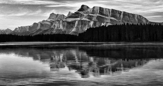 Morning Reflection by Jeff R Clow