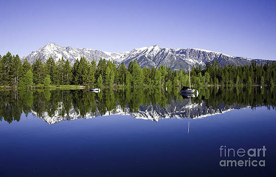 Morning Reflection on Colter Lake by Carol Barrington