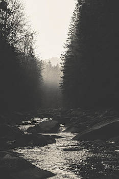 Morning river by Tomas Hudolin
