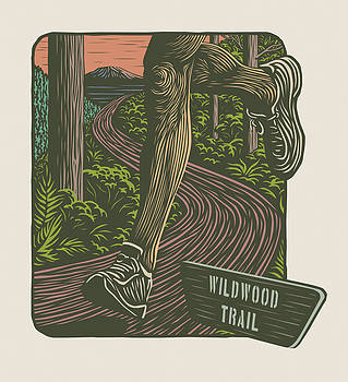 Morning Run on The Wildwood Trail by Mitch Frey
