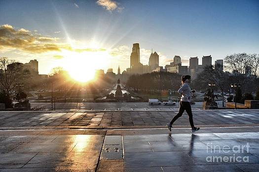 Morning Run by Photolope Images