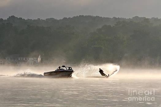 Morning Ski by Jay Nodianos