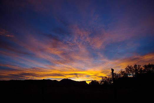 Morning Skies by Justyne Moore