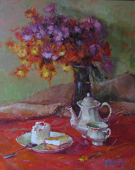 Morning Tea by Shapoval Yura