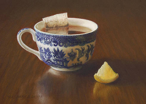 Morning Tea with Lemon by Barbara Groff