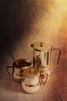 Morning with coffee by Iva Krapez