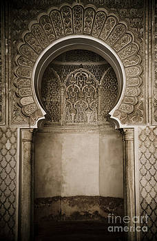 Moroccan Archway by Dawn Bowery