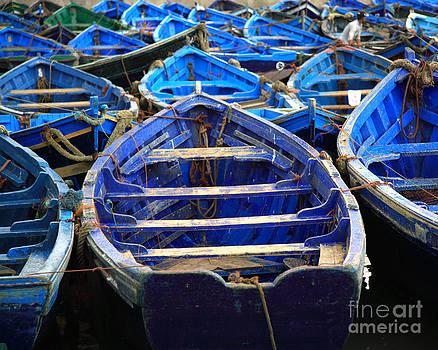 Deborah Benbrook - Moroccan blue fishing boats