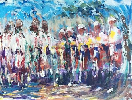 Moroccan Festival 2 by Laila Awad Jamaleldin