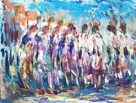 Moroccan festival 3 by Laila Awad Jamaleldin