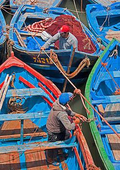 Dennis Cox - Moroccan fishing boats