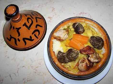 Moroccan Tajine by Noreen HaCohen
