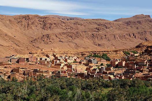 Moroccan Village by Sophie Vigneault