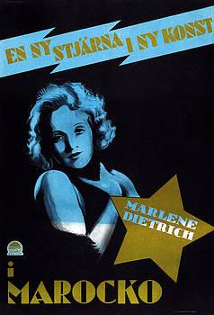Morocco, Aka Marocko, Marlene Dietrich by Everett