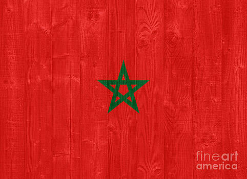 Morocco flag by Luis Alvarenga