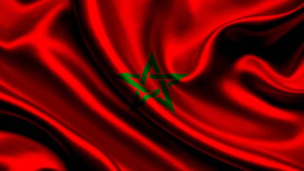 Valdecy RL - Morocco Flag