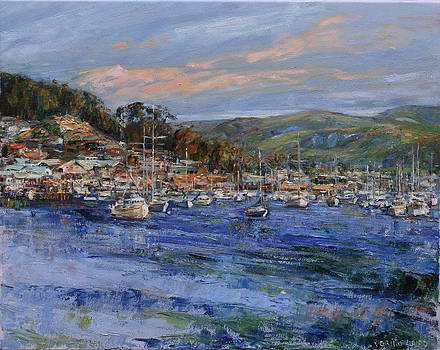 Morro Bay by Theresa Grillo Laird