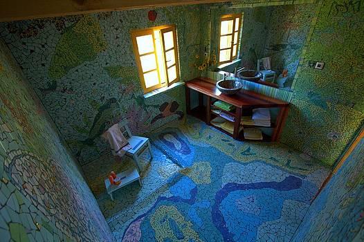 Mosaic Bathroom 2 by Cigler Struc