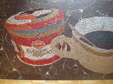 Mosaic coffe by Cigler Struc