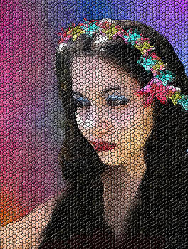 Mosaic Fairy by Lee Farley