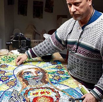 Mosaic Fatima by Patrick RANKIN