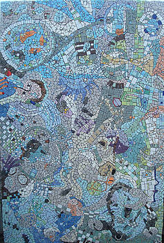 Mosaic La Idiot by Cigler Struc
