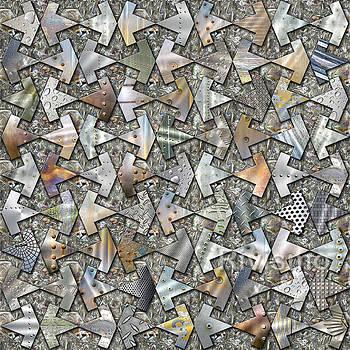 Mosaico experiencial II Clavo by Ramon Rivas - Rivismo
