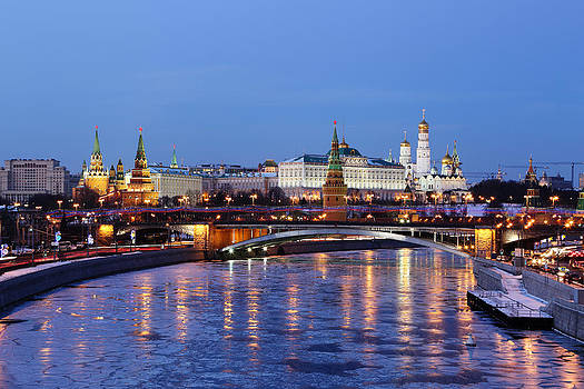 Moscow Kremlin by Alex Sukonkin