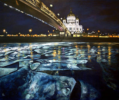 Moscow river by Olga Yug
