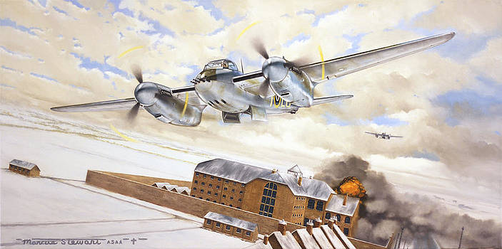 Mosquitoes Over Jericho by Marc Stewart