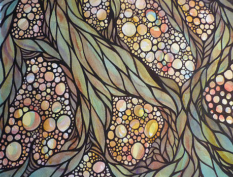 Moss and Pebbles by Susan Porter