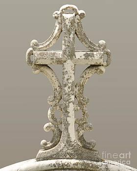 Moss on Cross by Josephine Cohn