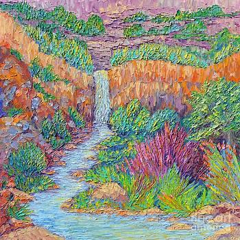 Mossy Creek Waterfall by Sloane Keats