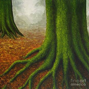 Mossy Trees by Anna Bronwyn Foley
