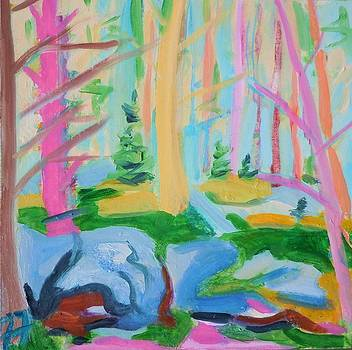 Mossy Woods by Francine Frank