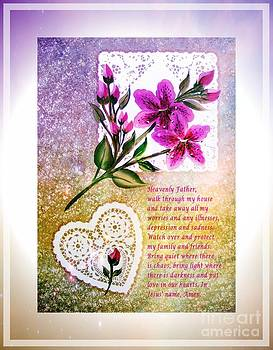 Barbara Griffin - Most Powerful Prayer with Doilies and Lilies