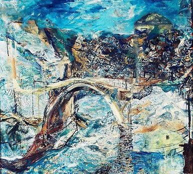 Mostar Bridge by Jelena Ignjatovic