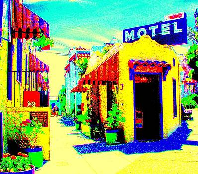 Motel California by Mamie Gunning