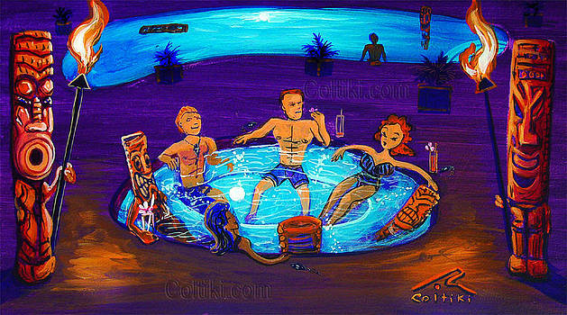 Motel Hot Tub by CRobert