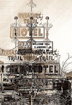 Motel Treasures by Barbara D Richards